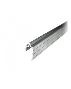 Perfil de alumínio macho 10mm Barra de 3 metros Tagg TGPL005