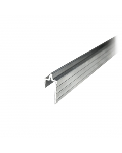 Perfil de alumínio macho 10mm Barra de 1 metro Tagg TGPL006