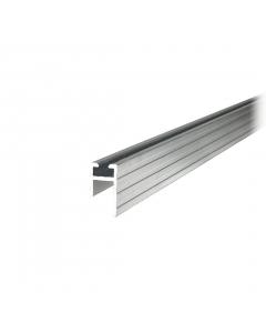 Perfil de alumínio fêmea 10mm Barra de 1 m Tagg TGPL008