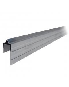 Perfil de Alumínio Macho 4/6 mm Barra de 1m Tagg TGPL012
