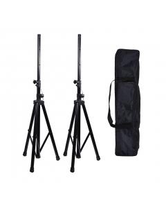Kit com 2 Pedestais para Caixa Acústica mais Bag Tagg TGSS003