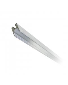 Perfil de aluminio Fêmea 9mm Tagg 3 Barras de 1 Metro TM0511